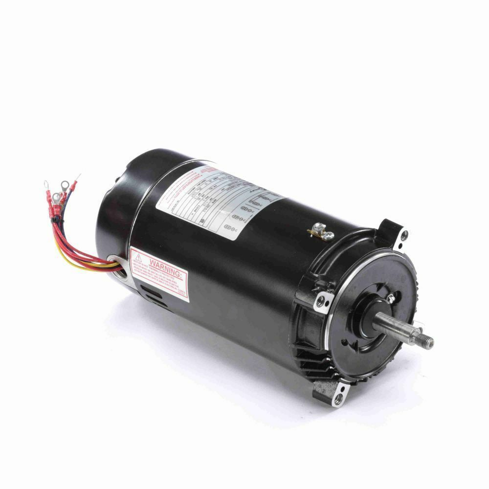 1 5 hp 3450 rpm 56j frame 208 230 460v three phase century for 1 5 hp 3 phase electric motor