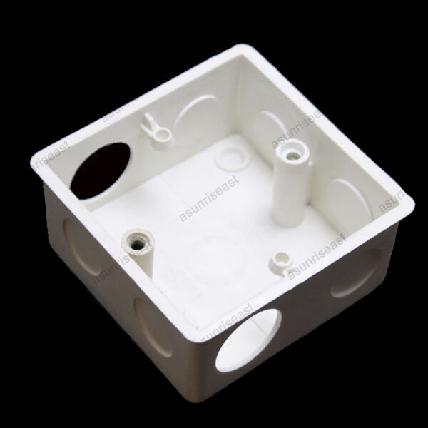 Wall Socket Back Box For Light Switch Tv Phone Computer