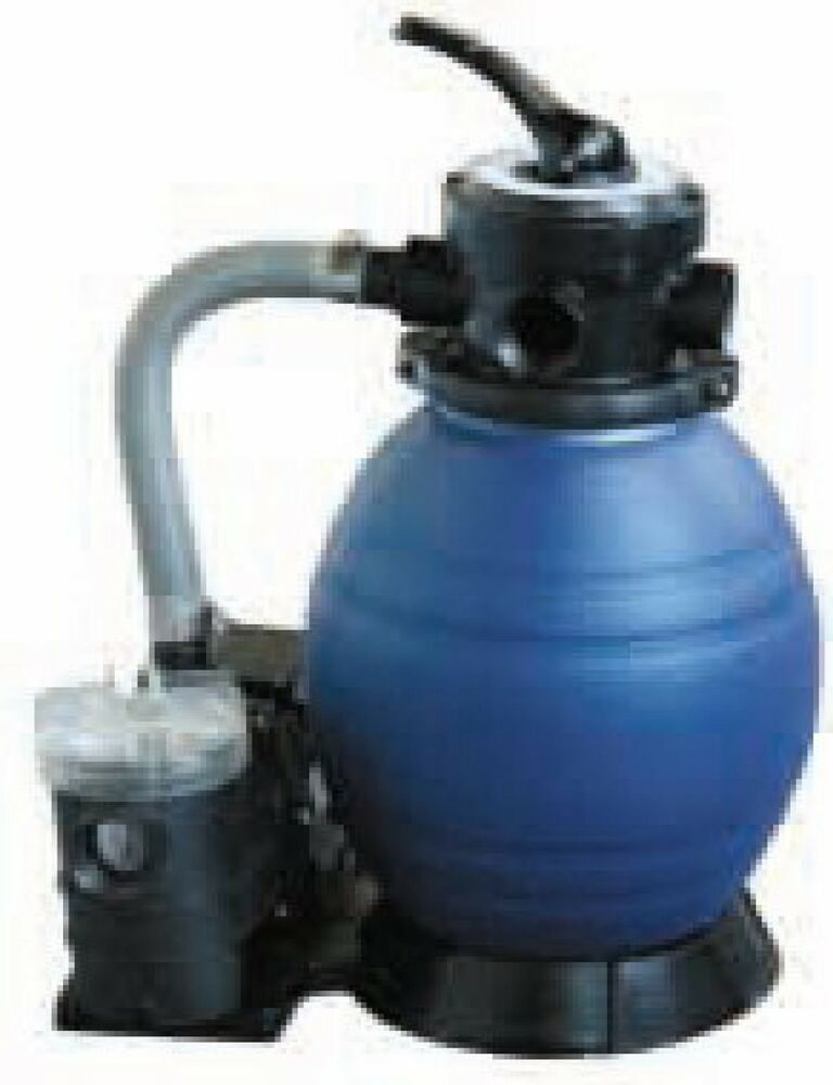 Sand filter pump combo for swimming pool pond spa hot tub ebay - Sandfilterpumpe fur pool ...