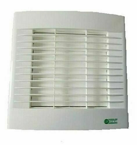 """Bathroom Exhaust Fan With Shutter: Airvent Kitchen Extractor Fan 6"""" 150mm Timer & Auto"""