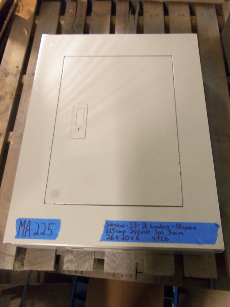 s-l1000  Amp Electric Panel on meter only, isn house,