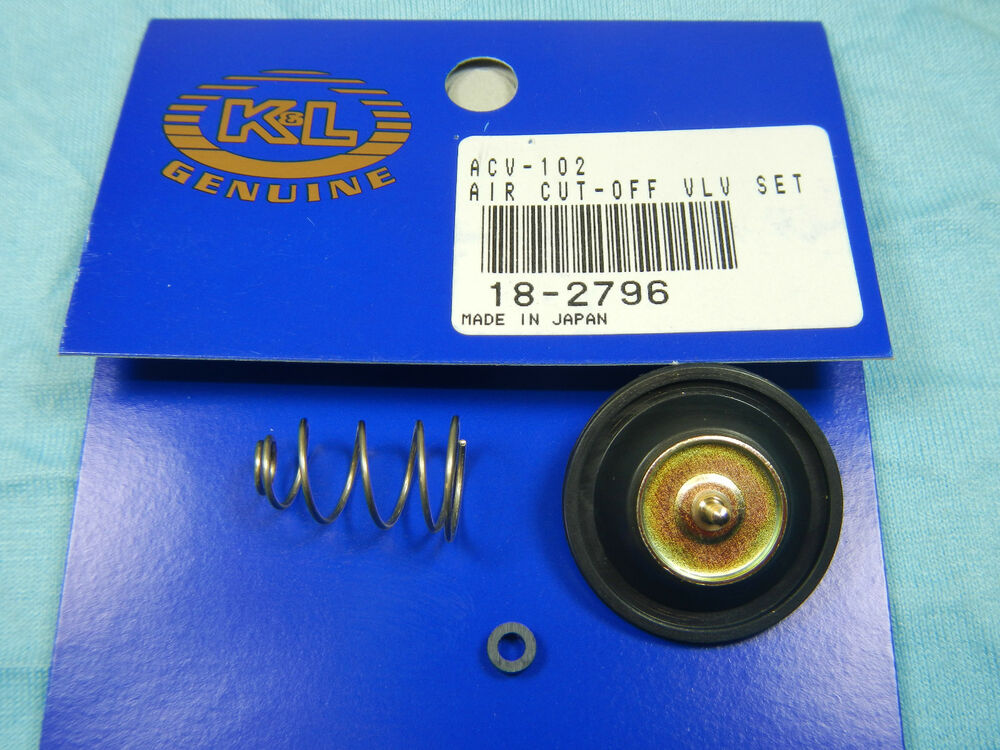 carburetor carb air cut  valve kit   honda xrr   ebay