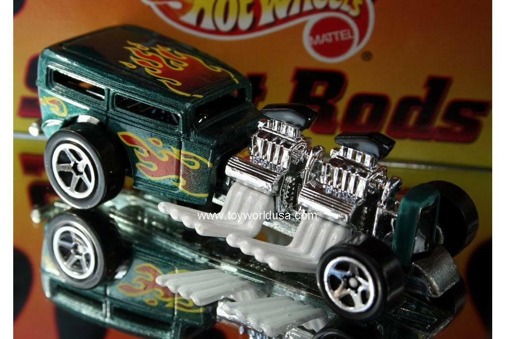 Hot Wheels Target Stores Exclusive Street Rods Way 2 Fast Ford Hot Rod Ebay