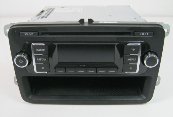 genuine vw transporter t5 rcd210 rcd 210 cd radio stereo. Black Bedroom Furniture Sets. Home Design Ideas