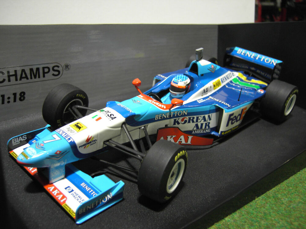 f1 formule 1 benetton b197 renault 1997 alesi 1 18 minichamps 180970007 voiture 3410560180024 ebay. Black Bedroom Furniture Sets. Home Design Ideas