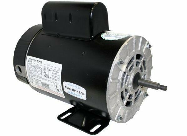 2 hp 3450 1725 rpm 56y frame 230v 2 speed pool spa motor for 1 2 hp pool motor