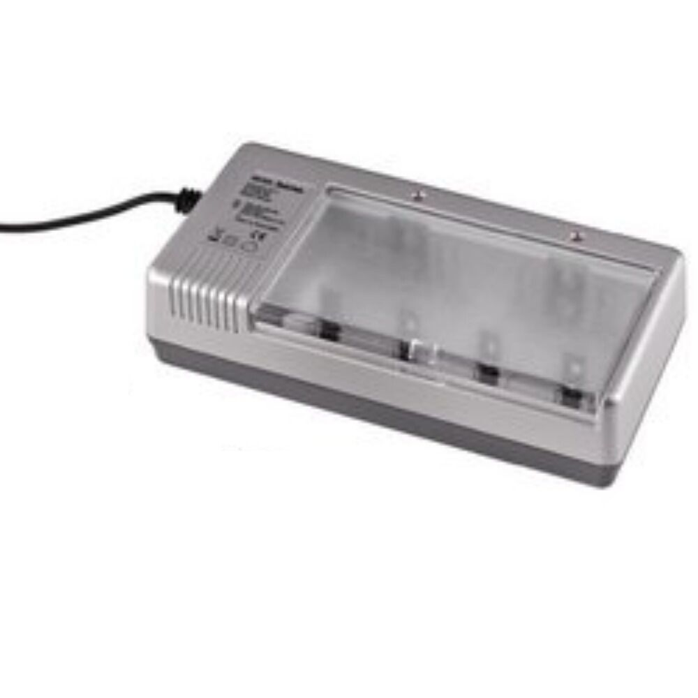 universal battery charger will charge aaa aa c d or 9v. Black Bedroom Furniture Sets. Home Design Ideas