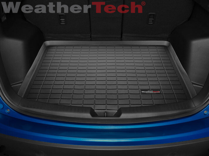 weathertech cargo liner trunk mat mazda cx 5 2013 2016 black ebay. Black Bedroom Furniture Sets. Home Design Ideas