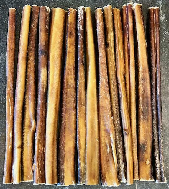 25 12 beef bully sticks usa made dog treat natural true chews new. Black Bedroom Furniture Sets. Home Design Ideas