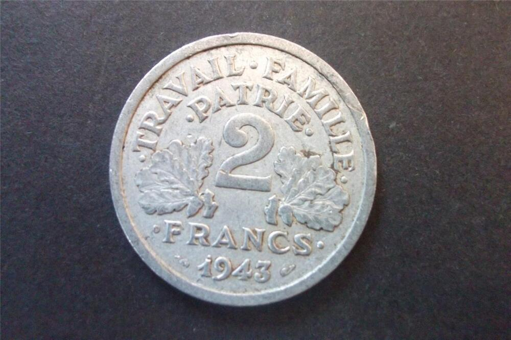 1943 france 2 francs coin ebay for France francs