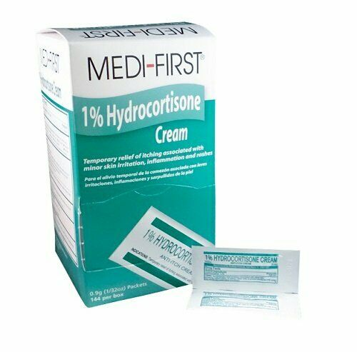 1% Hydrocortisone Cream - Triple Action Formula for Skin Infections