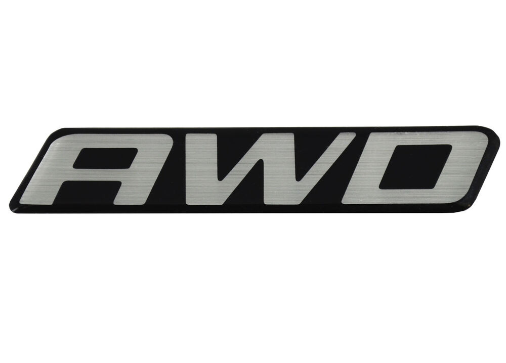 New OEM AWD Front Door Rear Hatch Truck Logo Emblem Badge ...
