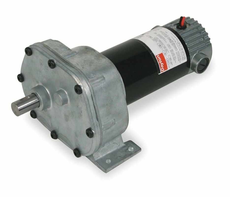 Dayton model 1lpl1 dc gear motor 6 5 rpm 1 15 hp 90vdc for 1 20 hp electric motor
