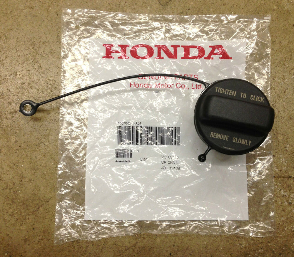 genuine oem honda acura fuel filler gas cap ebay. Black Bedroom Furniture Sets. Home Design Ideas