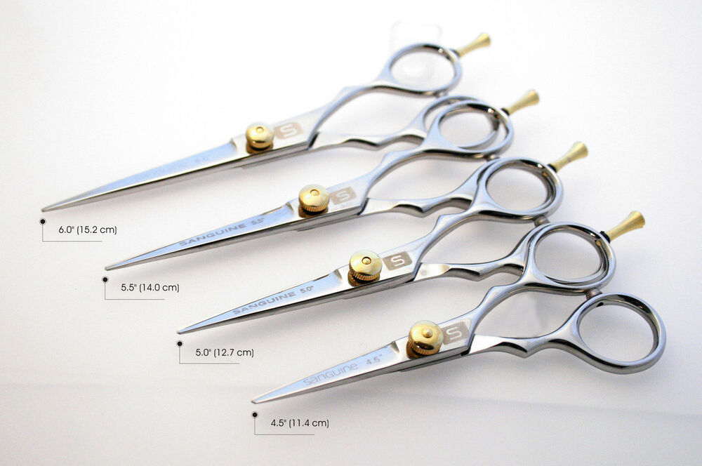 Silver Hairdressing Scissors Hair Cutting Scissor Barber