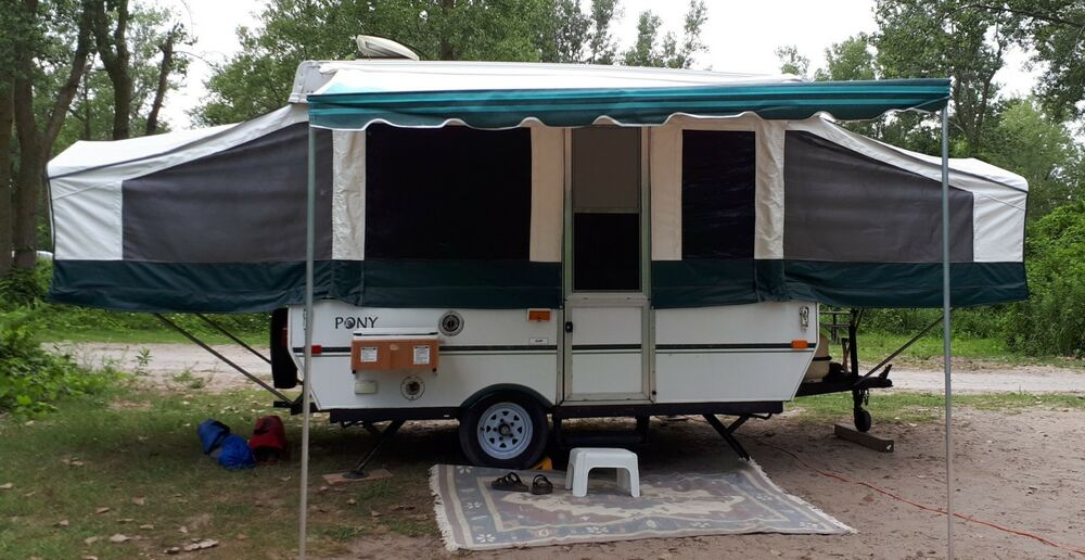 9' Pop Up Camper Awning Shademaker Classic Free UPS Ground ...
