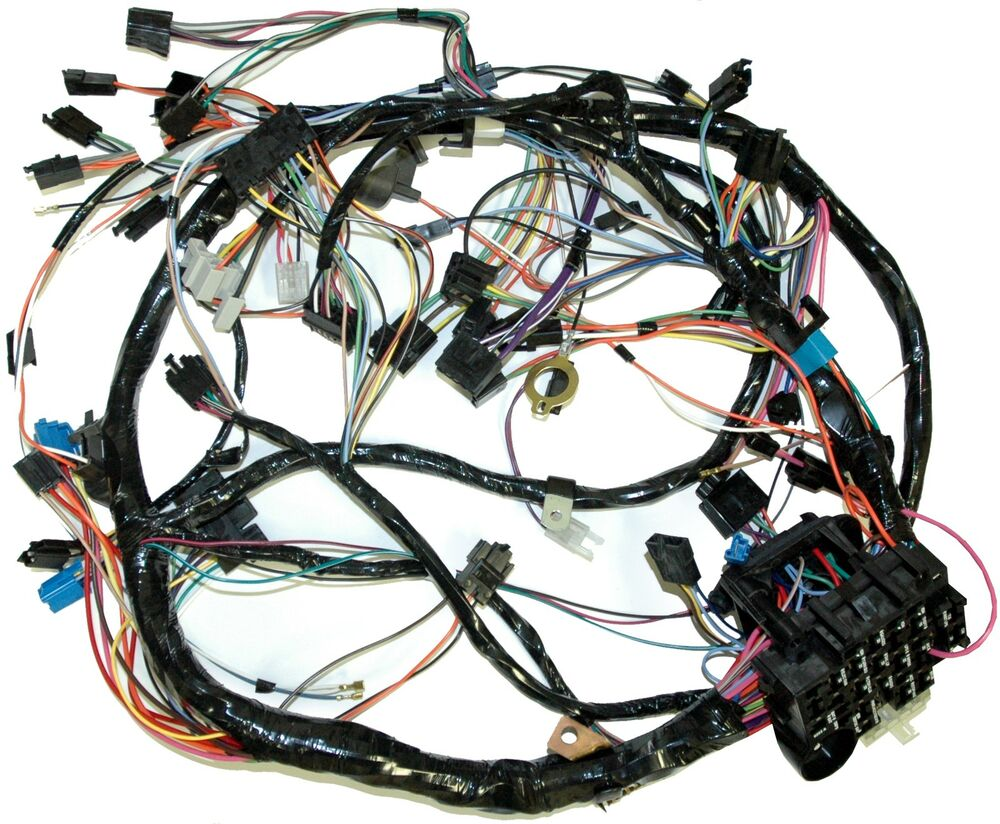 1981 Corvette Dash Wiring Harness For Cars With Automatic