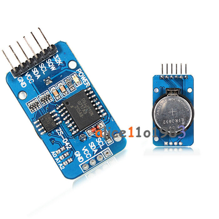 Ds at c iic module precision real time clock