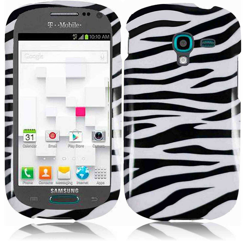For T-Mobile Samsung Galaxy Exhibit T599 HARD Case Snap On Phone Cover ...