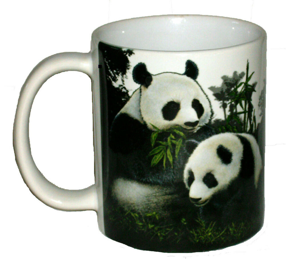 Giant Panda 11 Oz Ceramic Coffee Mug Or Tea Cup Ebay