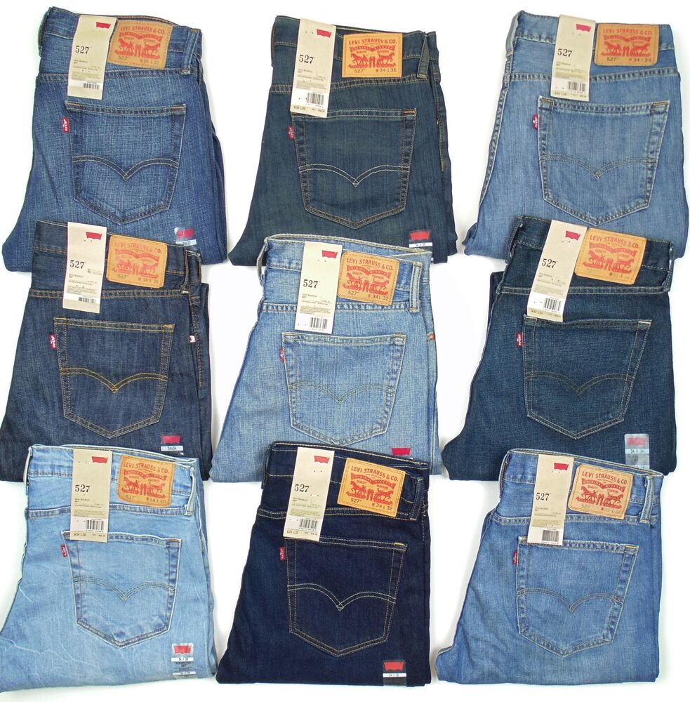 Levis 527 low boot cut colors