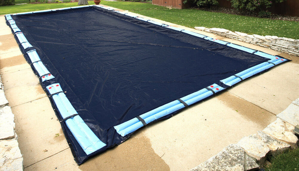 18 39 X 36 39 Size Rectangle Inground Swimming Pool Winter Cover For Cleaner Pool Ebay