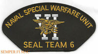 SEAL TEAM 6 TRIDENT PATCH US NAVY BIN LADEN 911 USS PIN UP HAT UDT GIFT WOW
