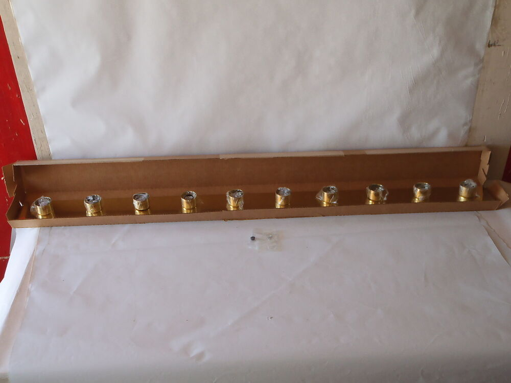 10 Bulb Light Bath Vanity Gold Brass EBay