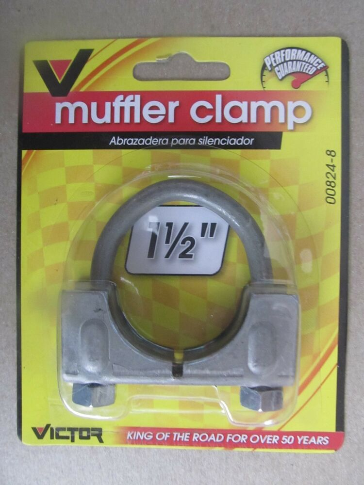Victor muffler clamp quot saddle