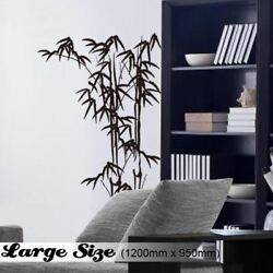 Traditional Chinese Bamboo Mural Wall Art Vinyl Decal Window Decoration Sticker