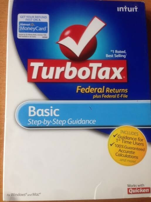 TurboTax Premier State & 5 Fed e-file for PC/MAC.