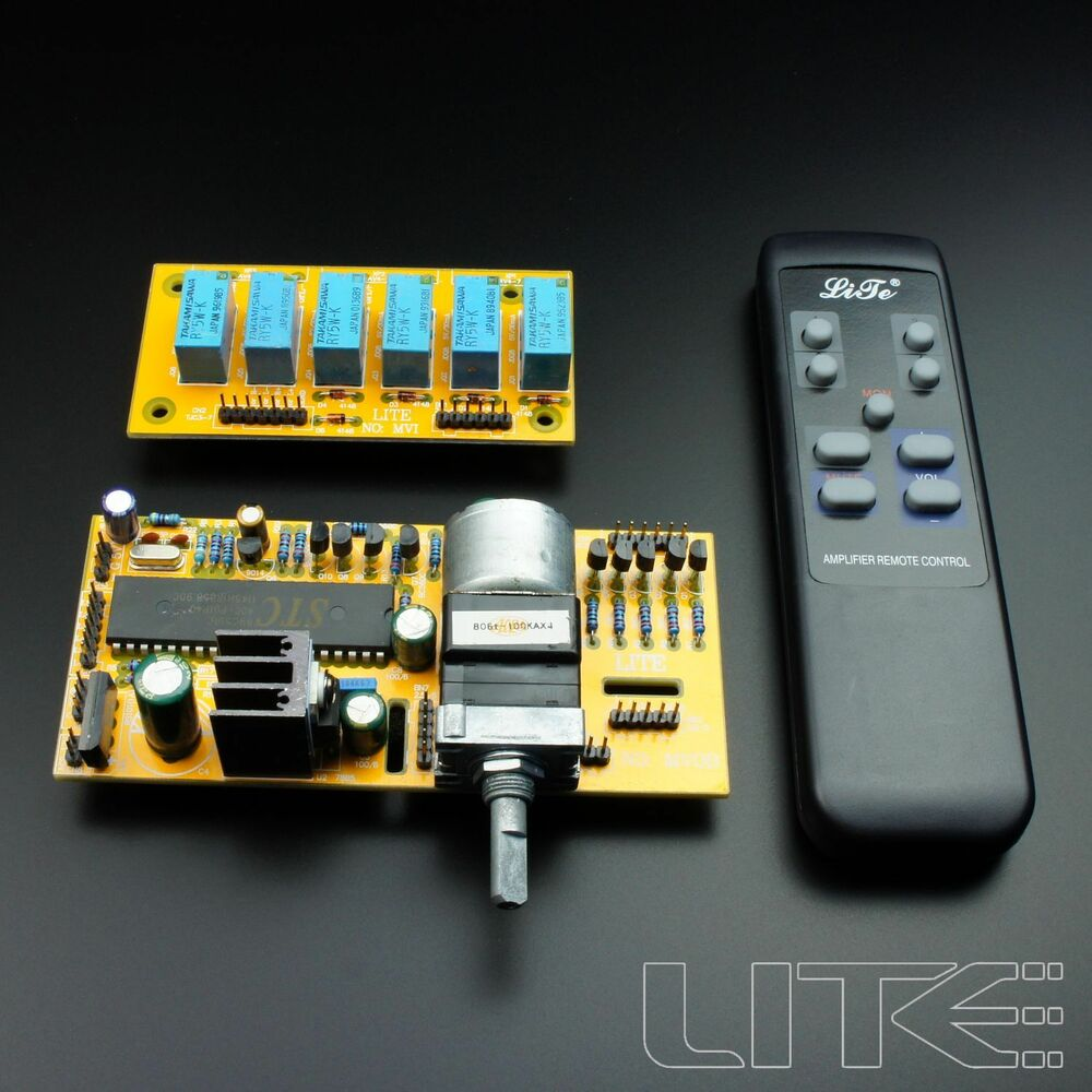 Remote Volume Control : Lite mv remote preamp board volume control input