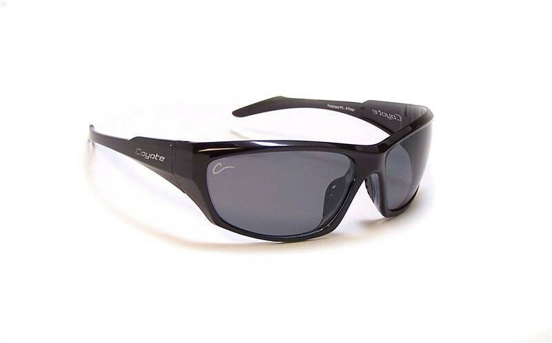 new coyote eyewear rage sunglasses polarized black ebay