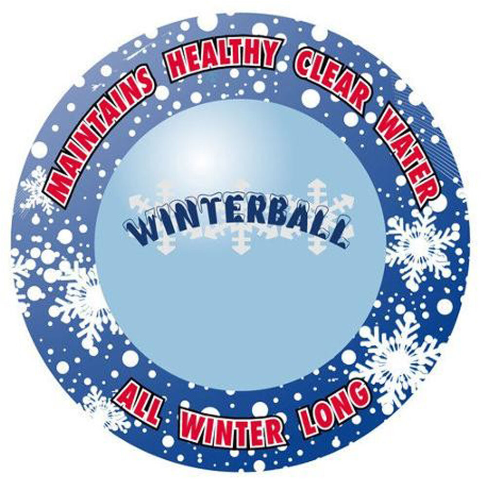 All In One Winter Chemical Closing Pill Winterizing Ball
