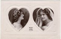 Real Photo Postcard Miss Lily Elsie Two Poses