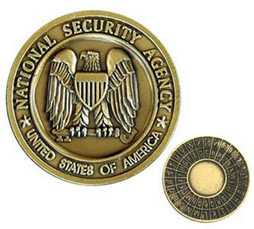 National Security Service Nsa Bronze Military Challenge