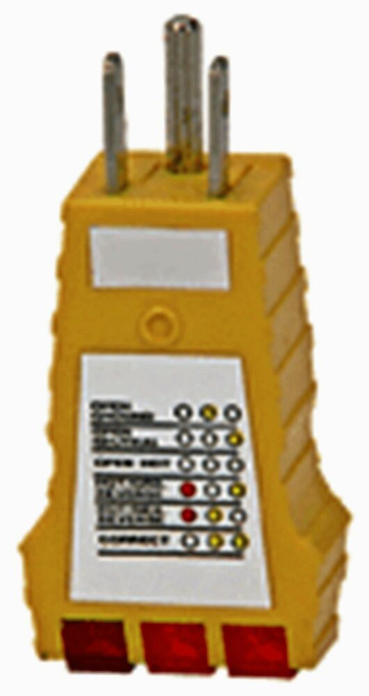 Electrical Receptacle Tester : Rv receptacle tester new tests parks electrical circuit