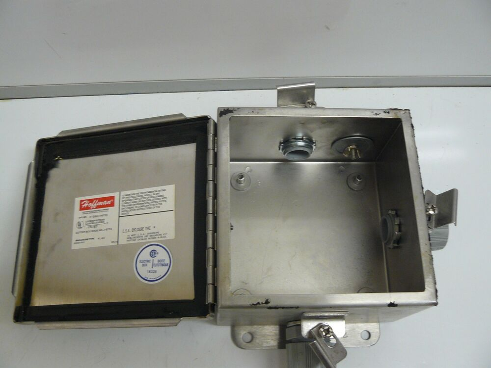 Hinged Electrical Box : Hoffman a chnfss electrical enclosure j box type