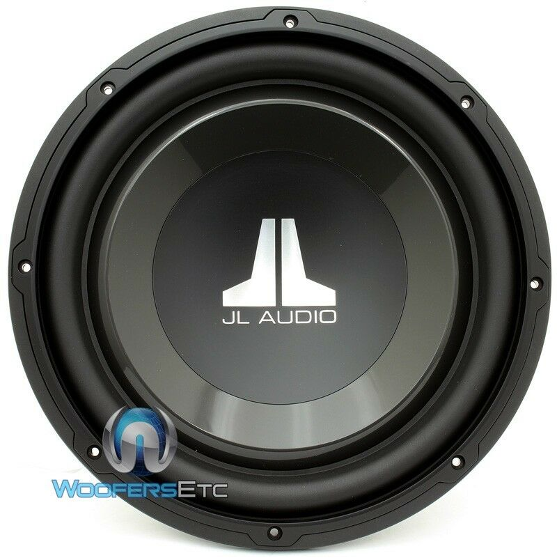 jl audio 12w1v3 4 sub 12 single 4 ohm 600w clean bass car. Black Bedroom Furniture Sets. Home Design Ideas