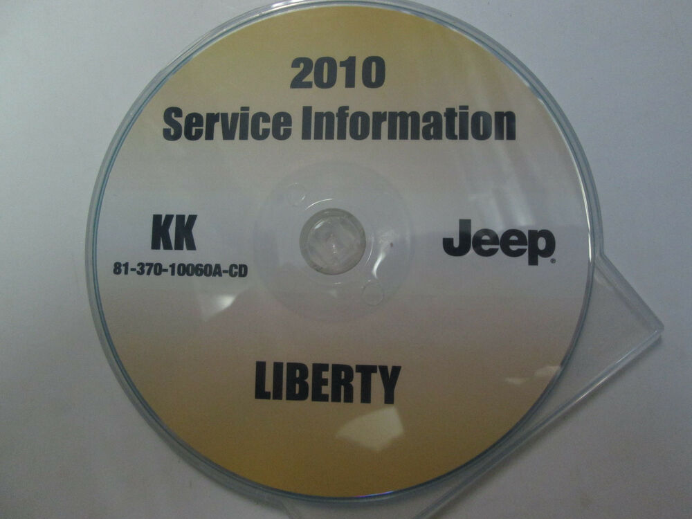2010 jeep liberty service shop repair manual cd dvd brand. Black Bedroom Furniture Sets. Home Design Ideas