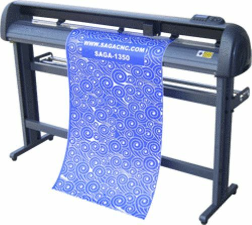 Vinyl Cutter Sticker Plotter Decal Sign Machine Saga