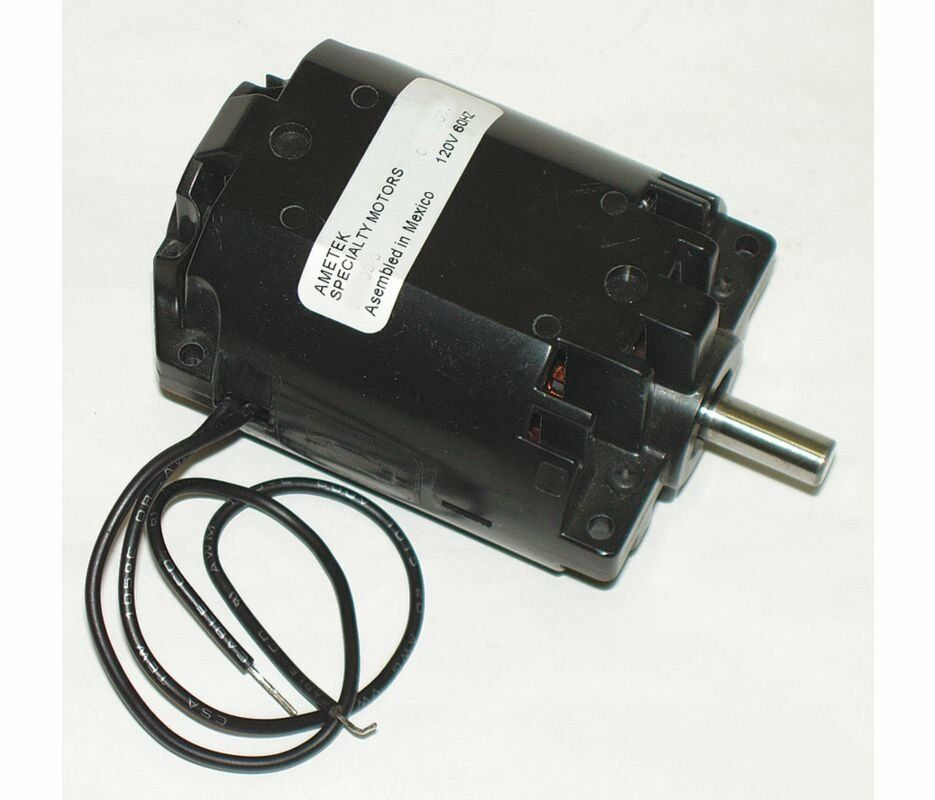 Ametek ac dc power nozzle electric motor 1 4hp 20 000 rpm for Ac to dc motor
