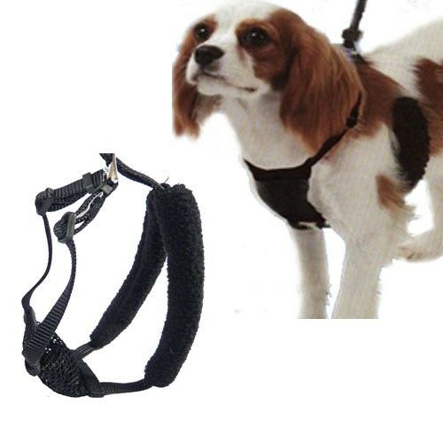 yuppie puppy mesh dog puppy anti pull harness stops pulling instantly new ebay. Black Bedroom Furniture Sets. Home Design Ideas