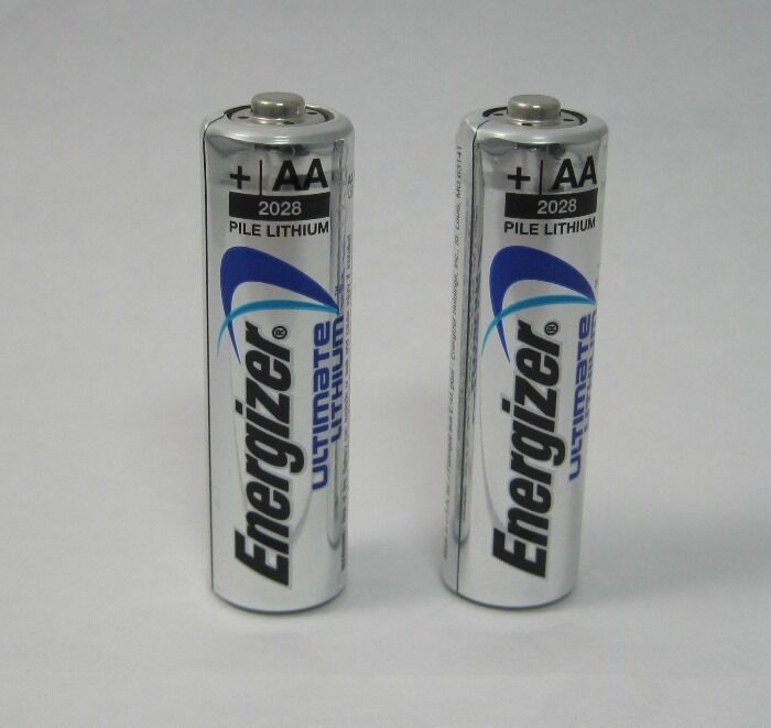2 energizer ultimate lithium aa batteries ebay. Black Bedroom Furniture Sets. Home Design Ideas