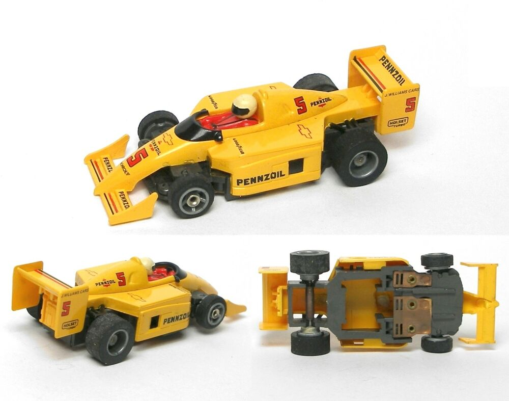 Tyco Slot Cars: 1991 TYCO Pennzoil Chevy F-1 Indy HO Slot Car BODY With