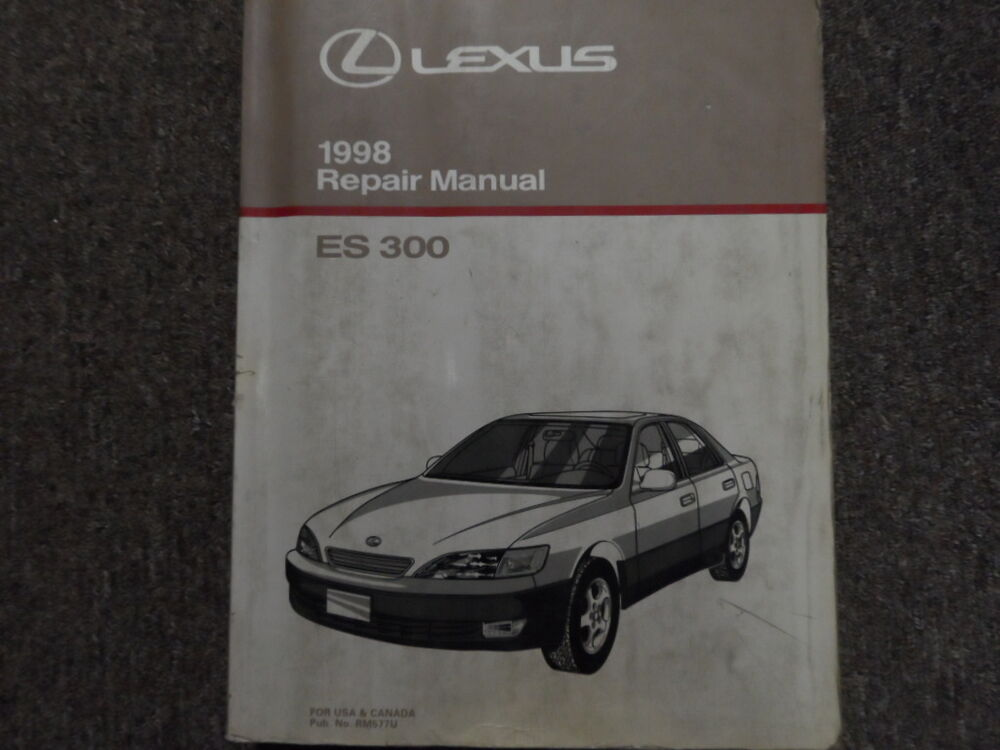 1998 lexus es300 es 300 service shop repair manual factory. Black Bedroom Furniture Sets. Home Design Ideas