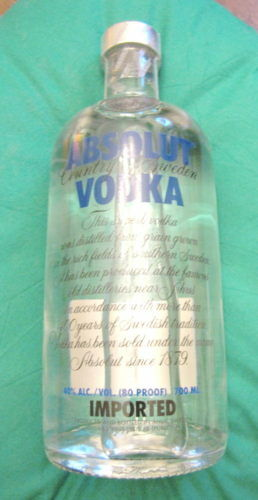 Vodka 70 cl Absolut Sweden 40° svedese Etichetta Blu