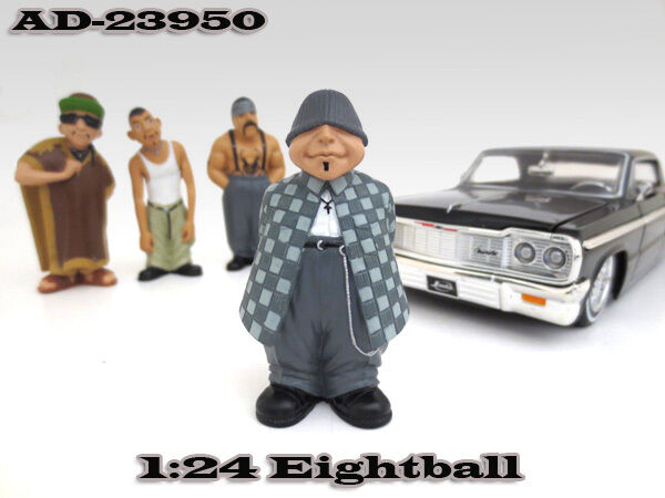 "EIGHTBALL ""HOMIES"" FIGURE FOR 1:24 SCALE DIECAST MODELS ..."