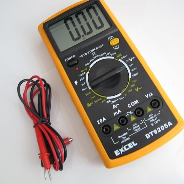 Commercial Electric Volt Meters : Brand new digital electrical ac dc voltage indicator test