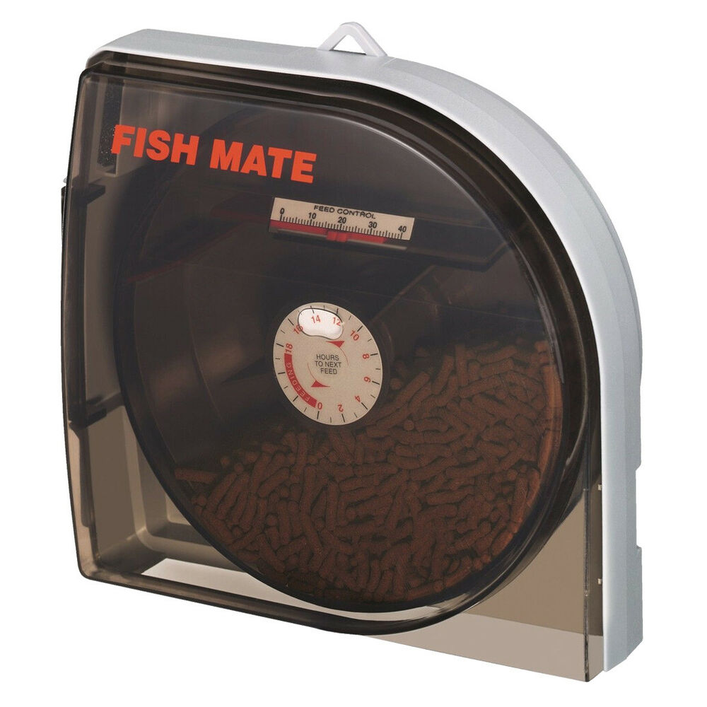 Fishmate P21 Pond Fish Mate Automatic Feeder Auto Holiday